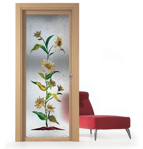 - Vetri decorati porte interne ...